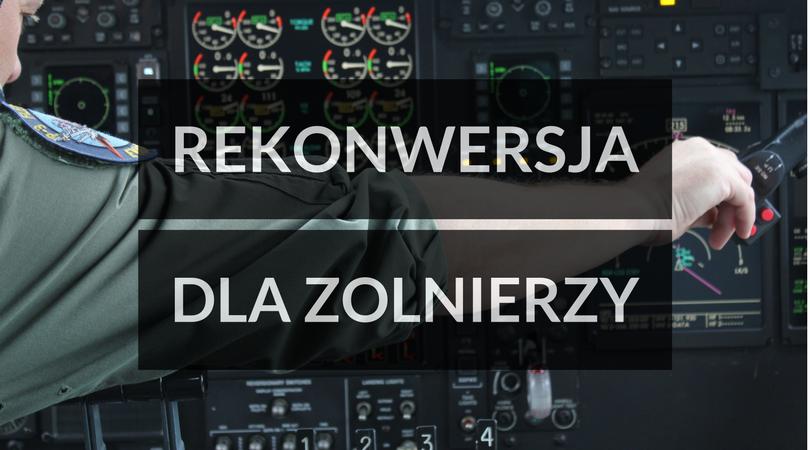 Rekonwersja dla żołnierzy - szkolenia lotnicze UAVO