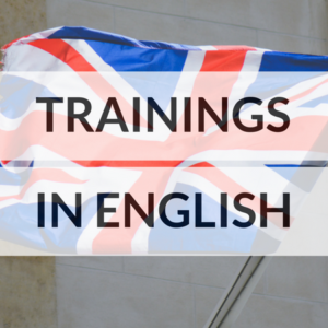 Trainings in English