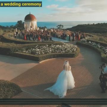 Ślub z drona w Łodzi – wideo inspiracje #1