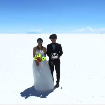 Dron w podróży poślubnej – wideo inspiracje #2