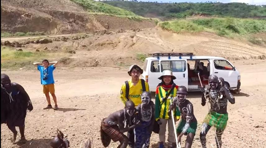 ludy afrykanskie screen z wideo kaz i mariko