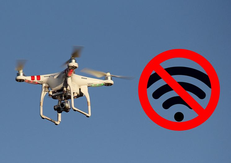 brak sieci GSM drony nowy prywatny tryb lotu DJI