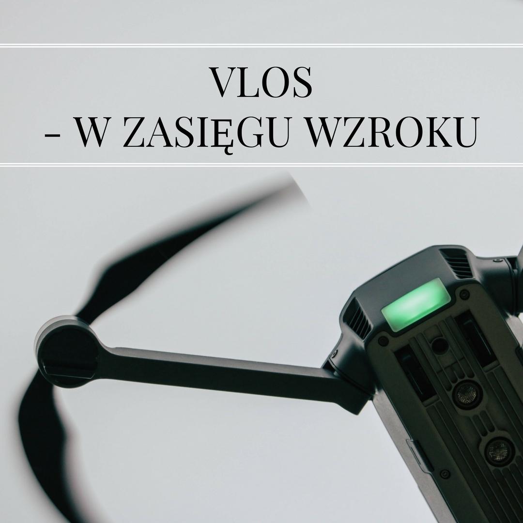 szkolenie lotnicze VLOS w zasięgu wzroku